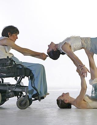 Disabled originated from Algeria