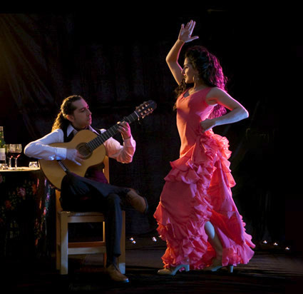 Flamenco originated from Spain