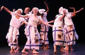 Ghanian Dance originated from South Africa