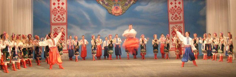 Hopak originated from Ukraine
