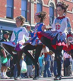 Irish dance originated from Austria