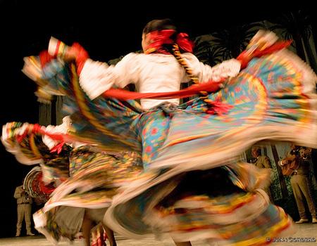 Jarabe Tipatio originated from Mexico