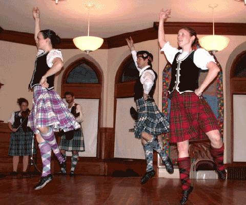 Jig Dance originated from Ireland