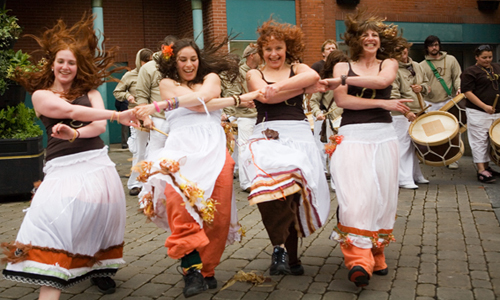 Juba dance originated from United States