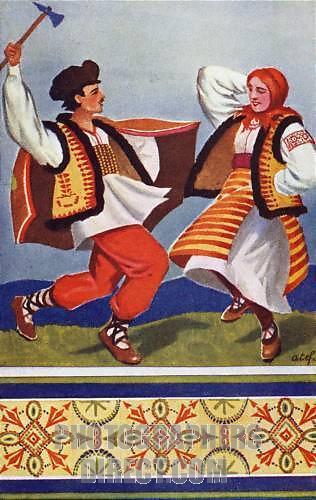 Kolomyjka originated from Ukraine