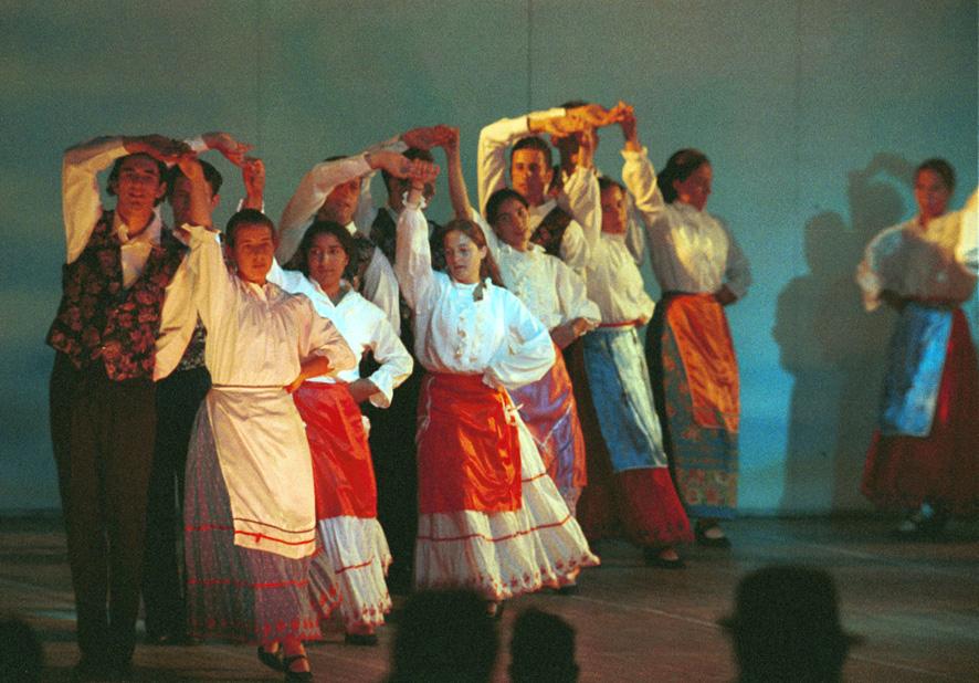 Mazurka (Mazur) originated from Russia