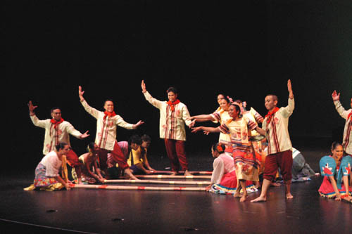 Tinikling originated from Philippines
