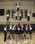 Cheerleading originated from United States