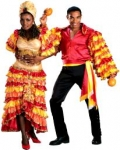 Rumba originated from Cuba