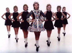 Traditional Irish Dancers