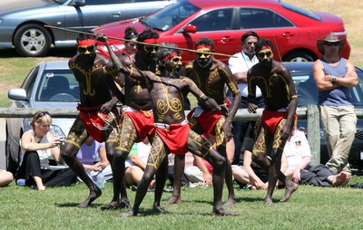 Kenbi Dancers Sharing Their Tradition